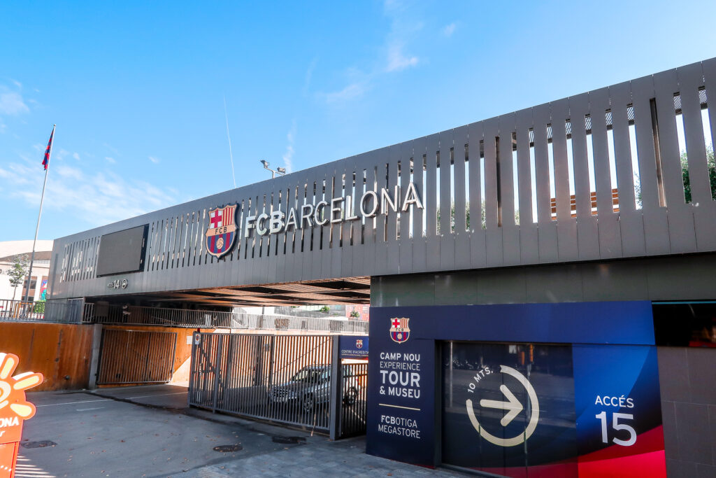 Nou Camp | The Best Way To Spend 12 Hours In Barcelona, Spain | Travel Tips | Elle Blonde Luxury Lifestyle Destination Blog