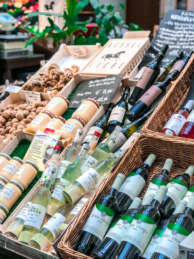 German Wine | Covered Market | What to do when visiting Stuttgart for the first time | Germany travel guide | Elle Blonde Luxury Lifestyle Destination Blog