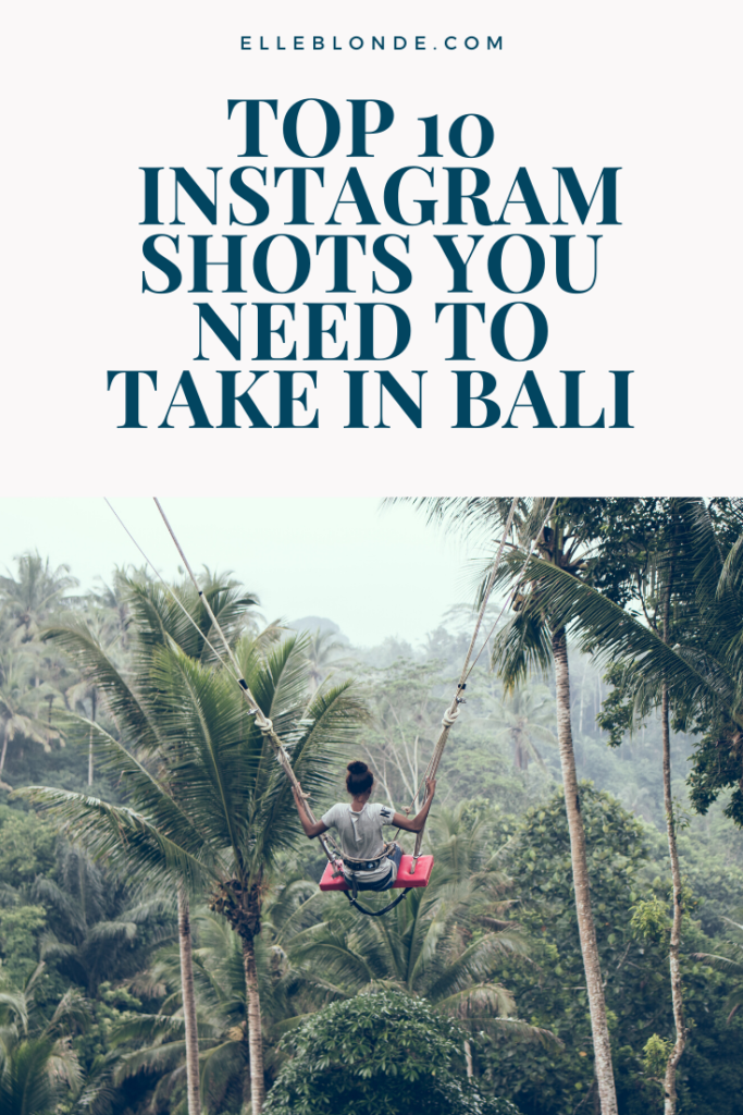 Heading to Bali? Chances are you'll want to research THE BEST spots for taking Instagram photos before you fly. We've got them here!