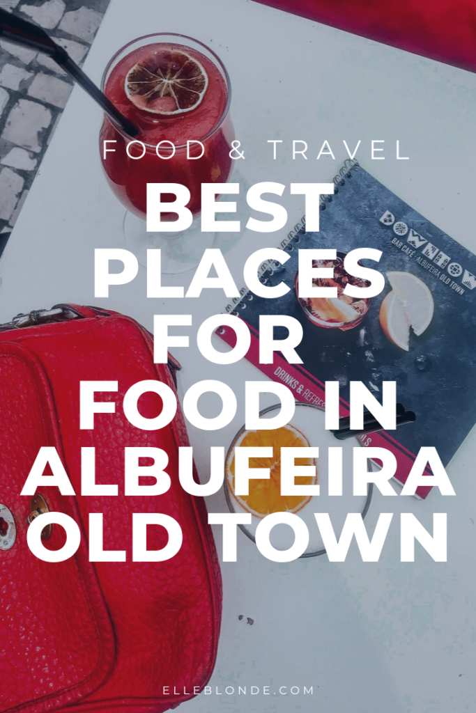 Where's best to eat in Albufeira Old Town | We discover the best places for food for couples in The Algarve, Portugal | Food & Travel | Elle Blonde Luxury Lifestyle Destination Blog
