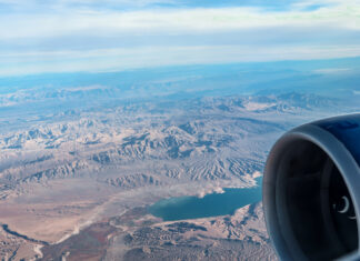 Clouds | 7 Night Itinerary for Las Vegas | If you're looking to plan things to do in Vegas here's what we got up to on our 6th visit | Travel Tips | Elle Blonde Luxury Lifestyle Destination Blog