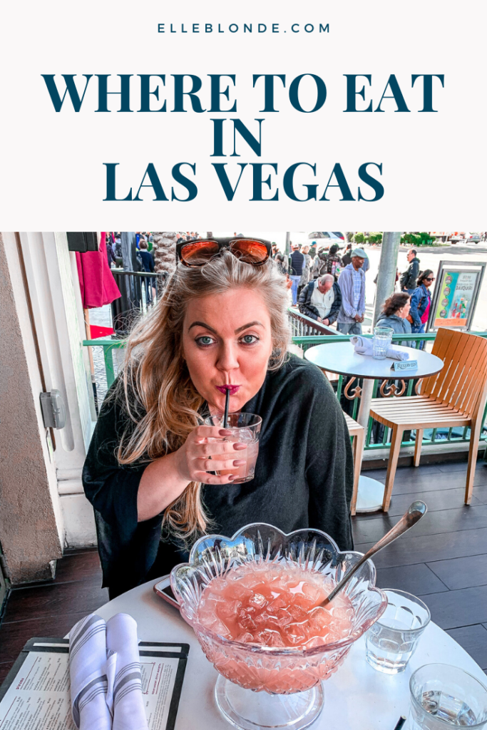 Food in Vegas | Where's good to eat in Las Vegas (and where isn't) | Elle Blonde Luxury Lifestyle Destination Blog