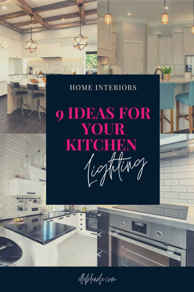 9 Ideas for Kitchen Lighting in Your Home   Home Interiors and Decor   Elle Blonde Luxury Lifestyle Destination Blog