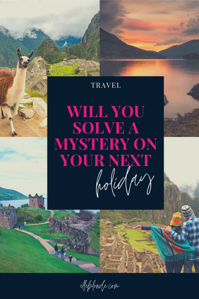 Solve a mystery on your next holiday | Travel guide | Elle Blonde Luxury Lifestyle Destination Blog