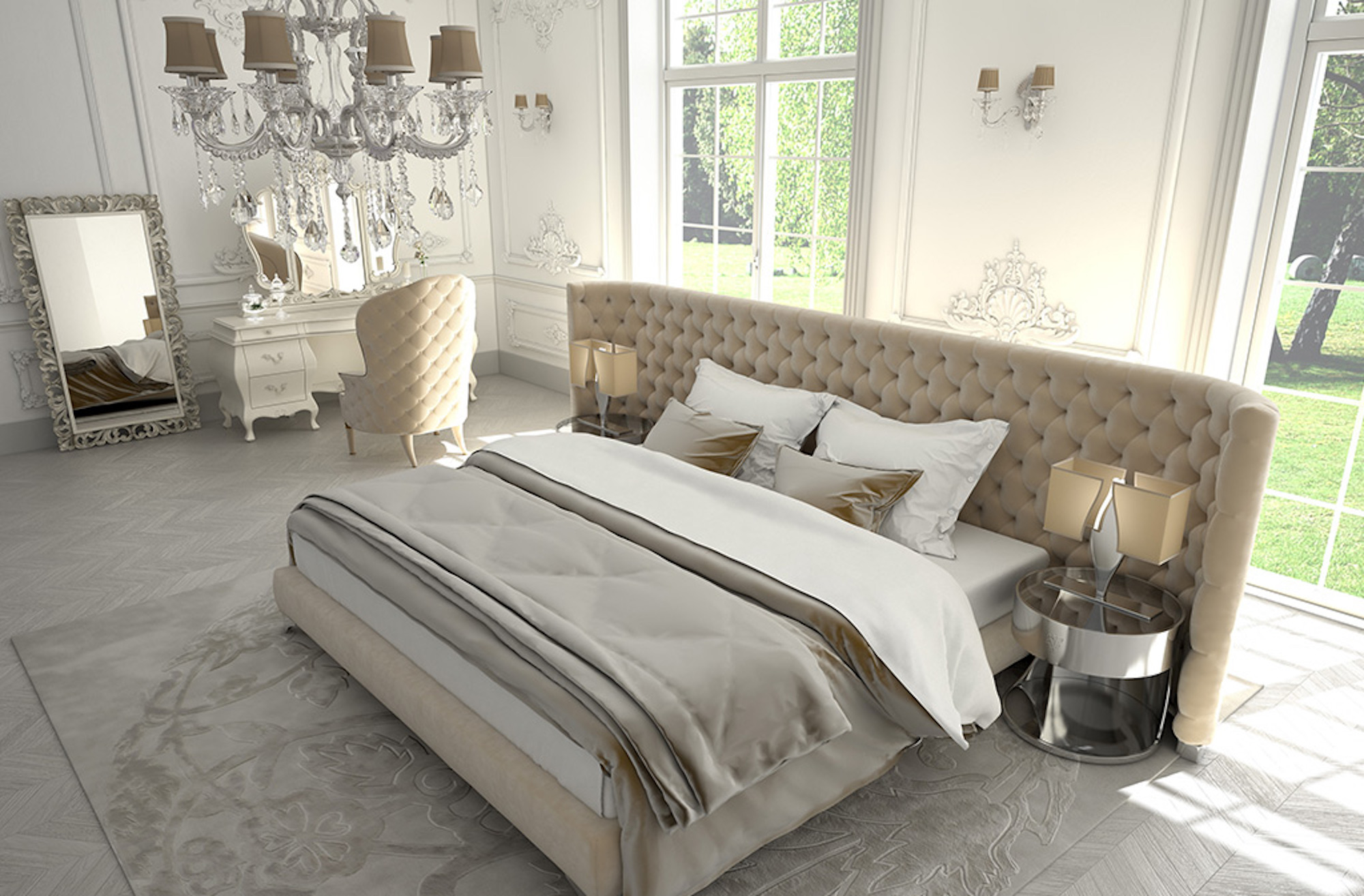 How to create a luxurious bedroom in your home | Home Interior | Elle Blonde Luxury Lifestyle Destination Blog