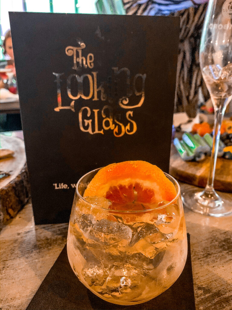 Looking Glass Gin Cocktail | Sunderland Restaurant Week | Where to eat in Sunderland | Elle Blonde Luxury Lifestyle Destination Blog