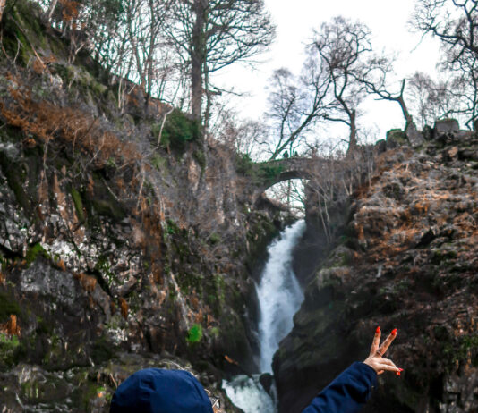 Aira Force in the Lake District   Places to visit and good walks   Waterfall   Travel Guide   Elle Blonde Luxury Lifestyle Destination Blog