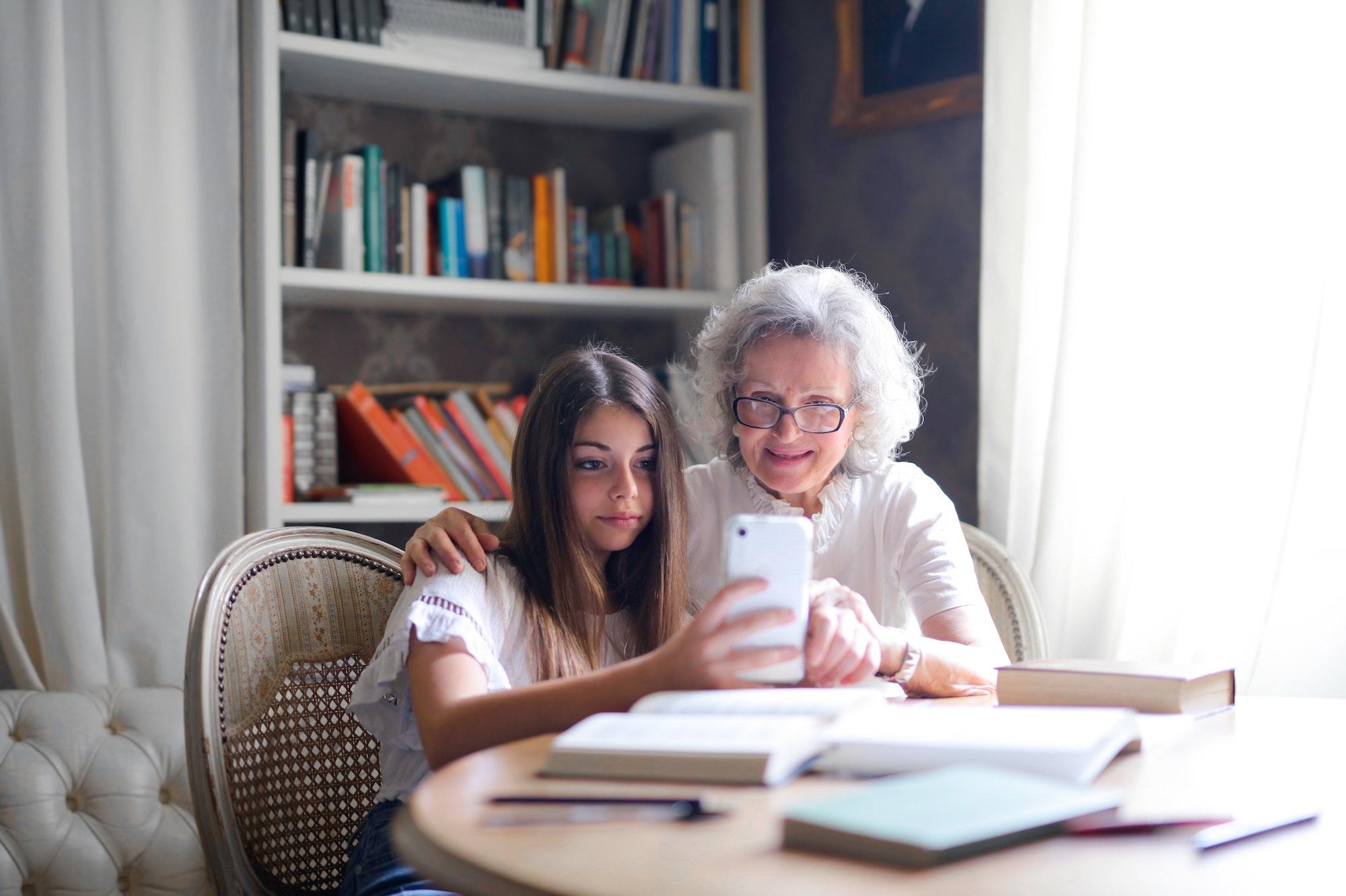 Teaching the elderly to use technology during Coronavirus   Elle Blonde Luxury Lifestyle Destination Blog