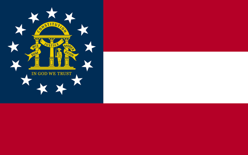 Georgia | 8 Things You Won't Know About US State Flags | Travel Tips | Elle Blonde Luxury Lifestyle Destination Blog