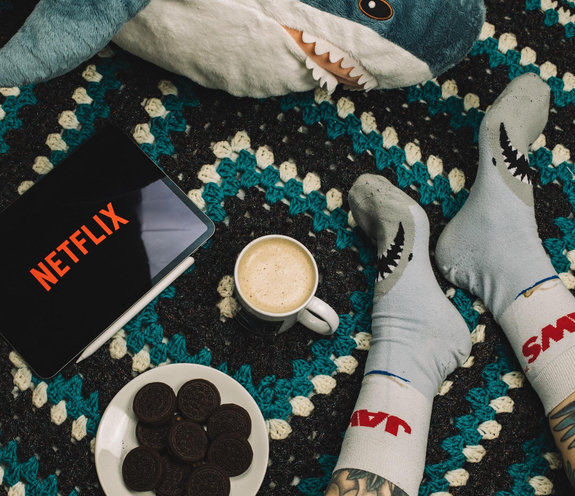 Virtual Night In How to make Netflix nights better | Technology | Elle Blonde Luxury Lifestyle Destination Blog