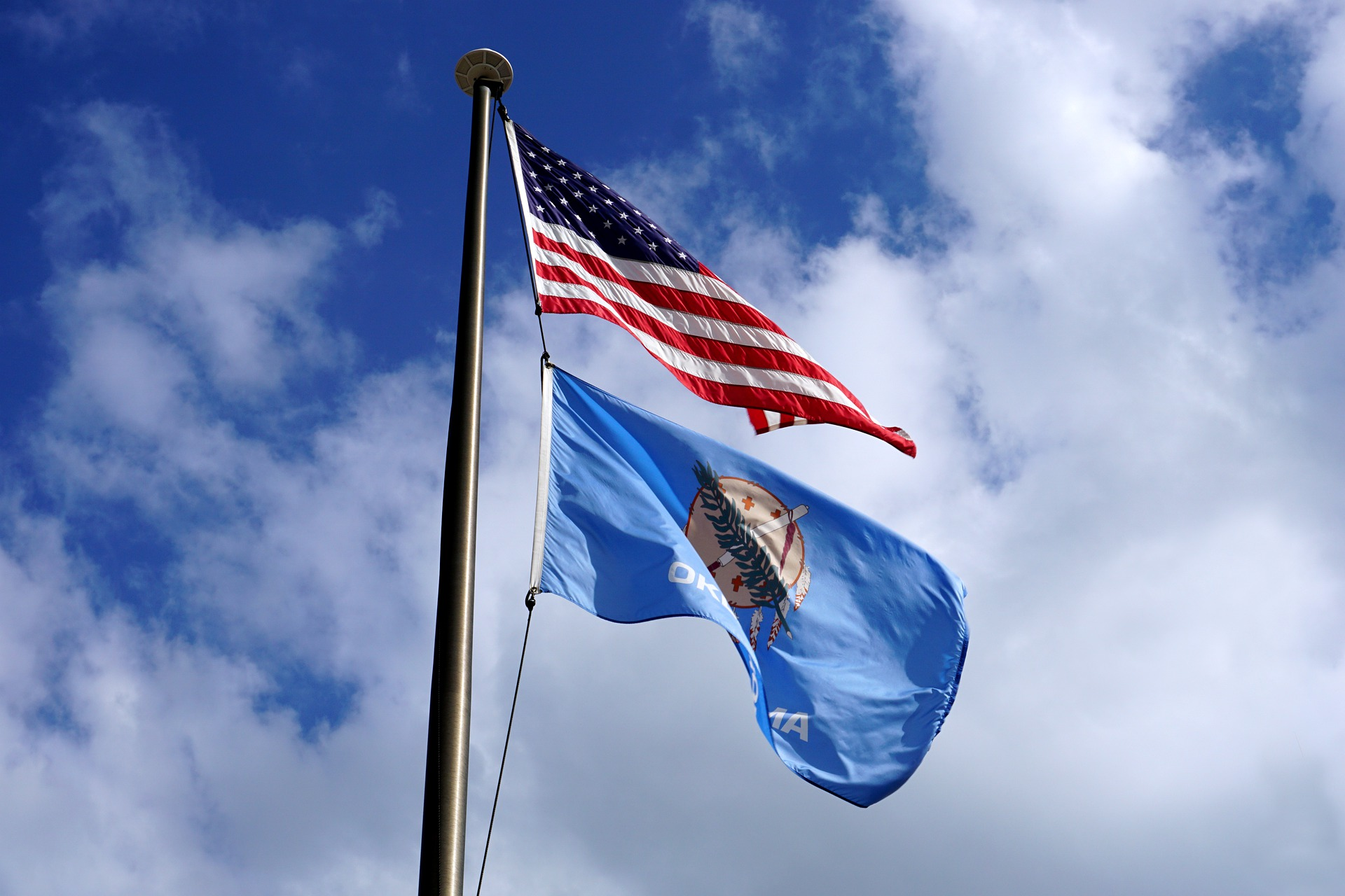 Oklahoma | 8 Things You Won't Know About US State Flags | Travel Tips | Elle Blonde Luxury Lifestyle Destination Blog