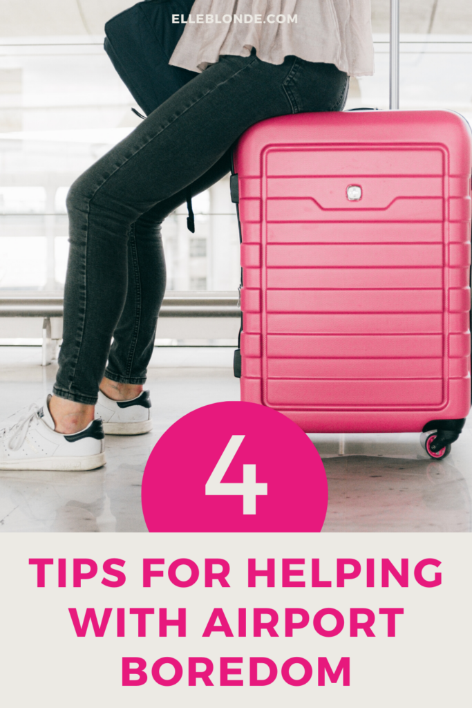 Solo Travel Tips for Airport Boredom | Elle Blonde Luxury Lifestyle Destination Blog