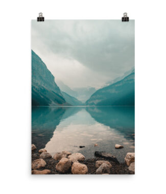 Prints and Posters | Home Interiors I Like The View From Here Still Lake | Travel Photograph | Elle Blonde Luxury Lifestyle Destination Blog