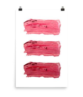 A Little Lip Service Lipsticks Print | Home Interiors | Elle Blonde Luxury Lifestyle Destination Blog