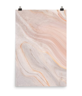 Muted Serenity - Pink Marble Print | Home Interiors | Elle Blonde Luxury Lifestyle Destination Blog