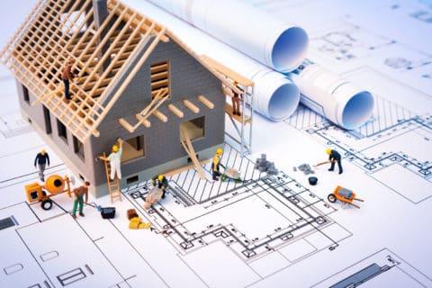 Etapes de construction d'une Maison