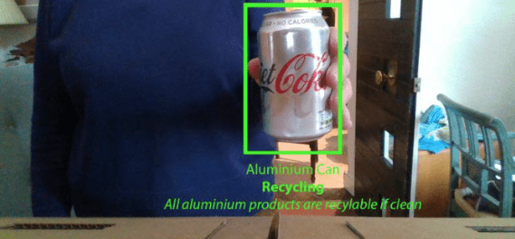 Recycleye Bin: A Human-in-the-Loop Approach to Computer Vision Waste Disposal by Hugo
