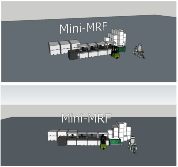 Decentralised and Digitised Mini Material Recovery Facilities (mini-MRF) by Julien