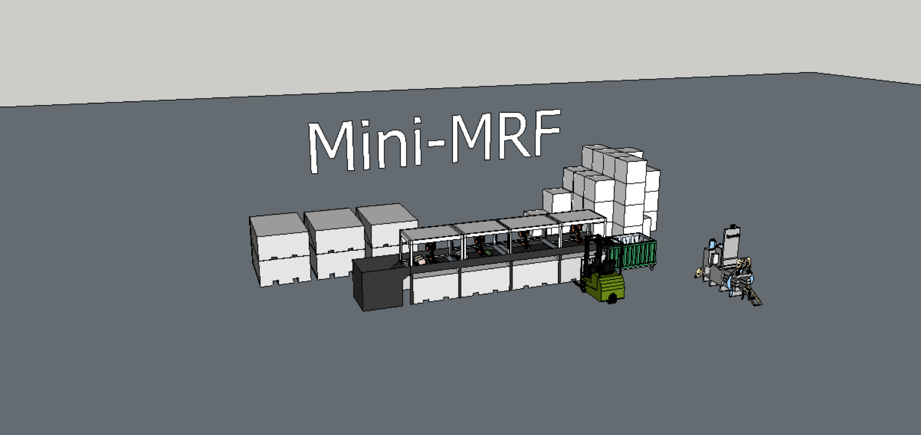 Decentralised and Digitised Mini Material Recovery Facilities