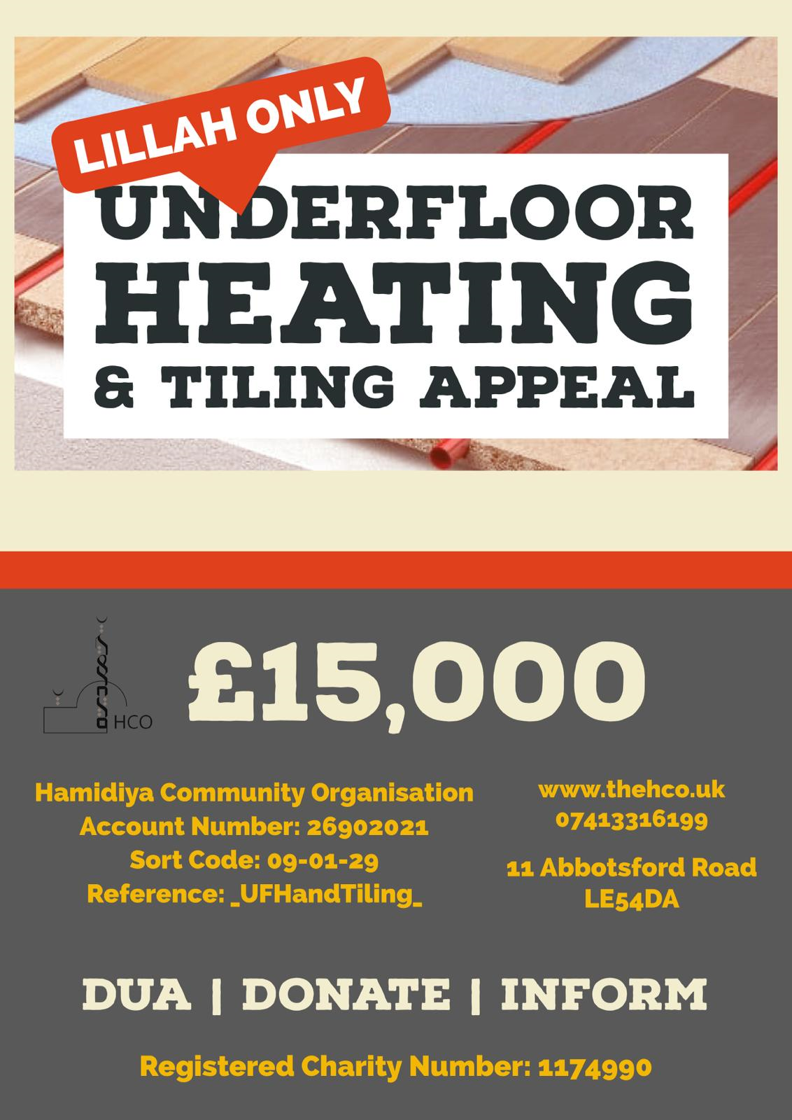 Underfloor Heating and Tiling Appeal