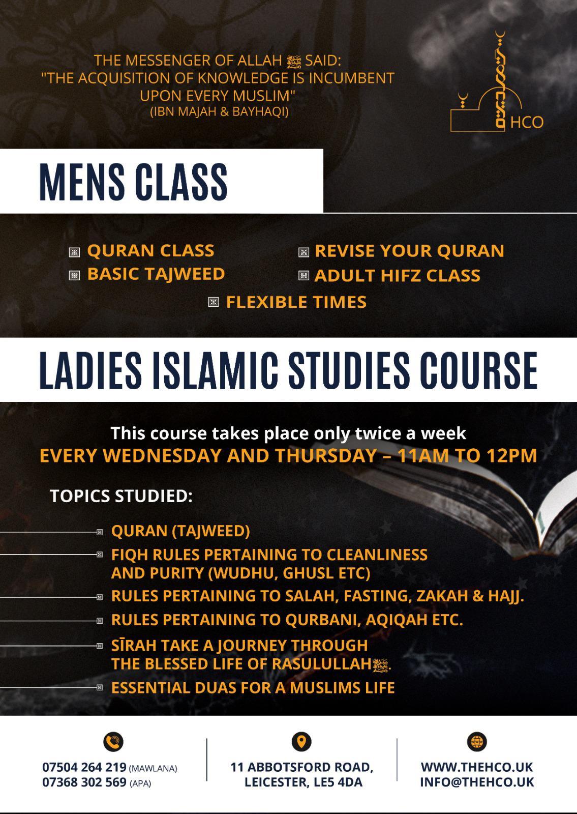 Adults Classes