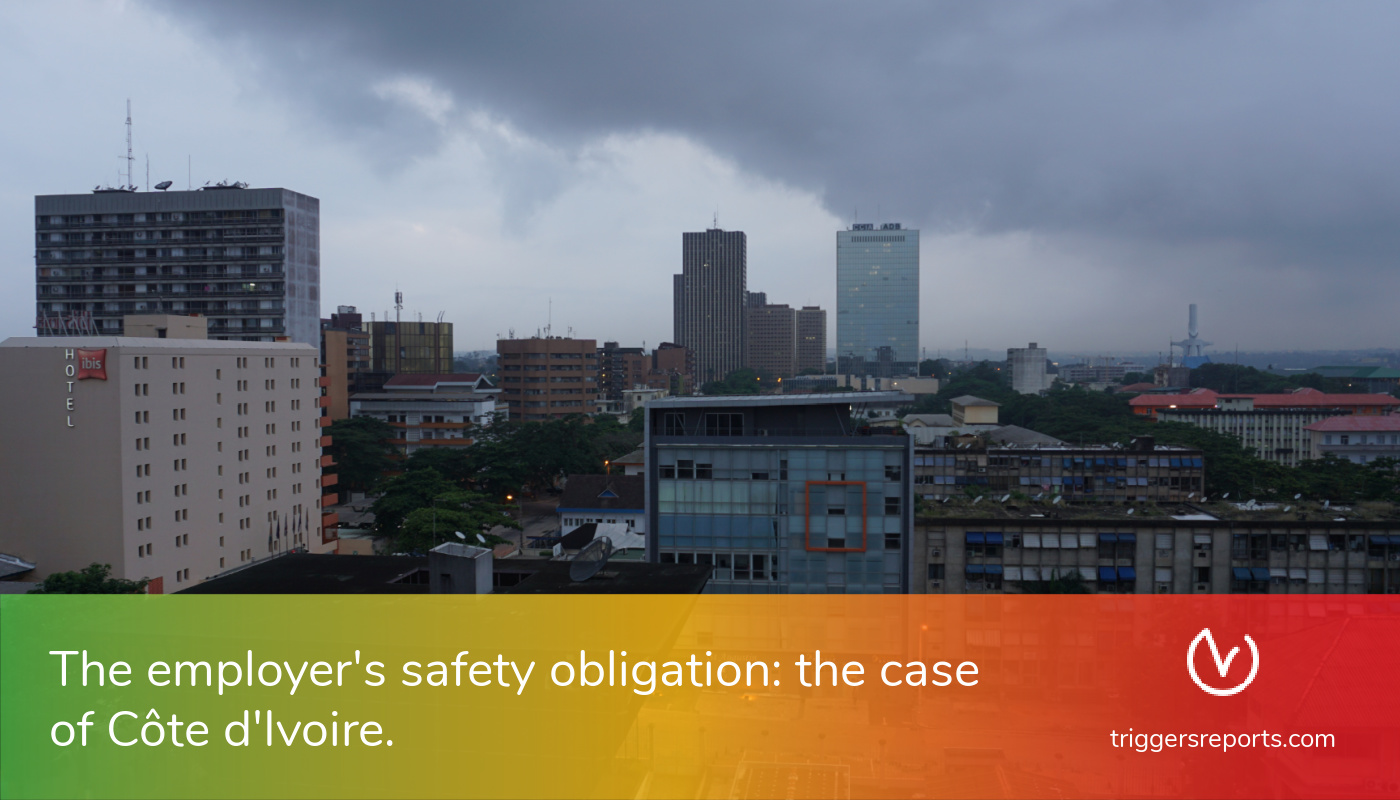 The employer's safety obligation: the case of Côte d'Ivoire.