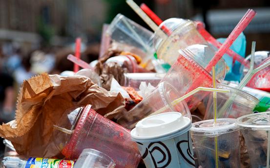 Complete ban on single use plastics!