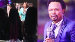 Joshua Iginla's ex wife resurfaces in a video where she addressed a church congregation