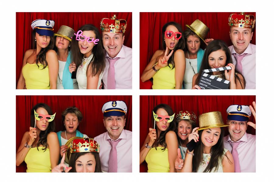 wedding photo booth poses