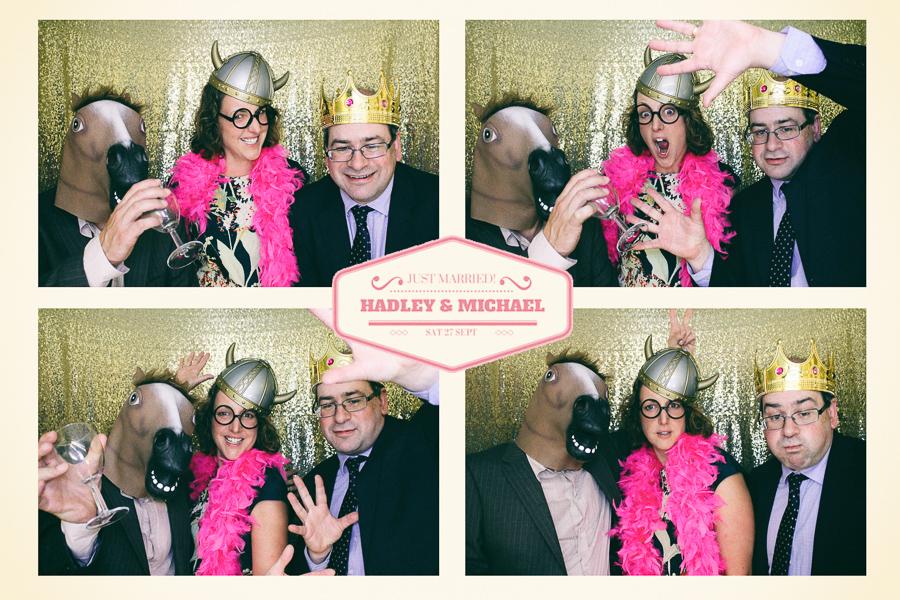 gloucestershire wedding photo booth