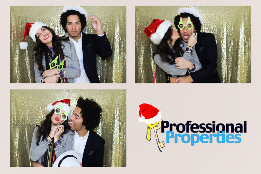 Christmas party photo booth ipro stadium derby