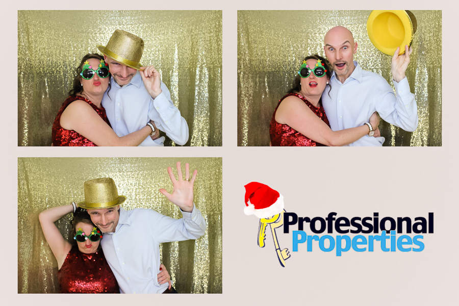 christmas photo booth at the ipro stadium