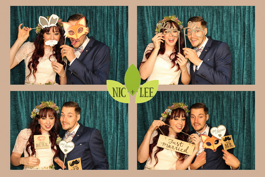 woodland themed photo booth upper house hayfield