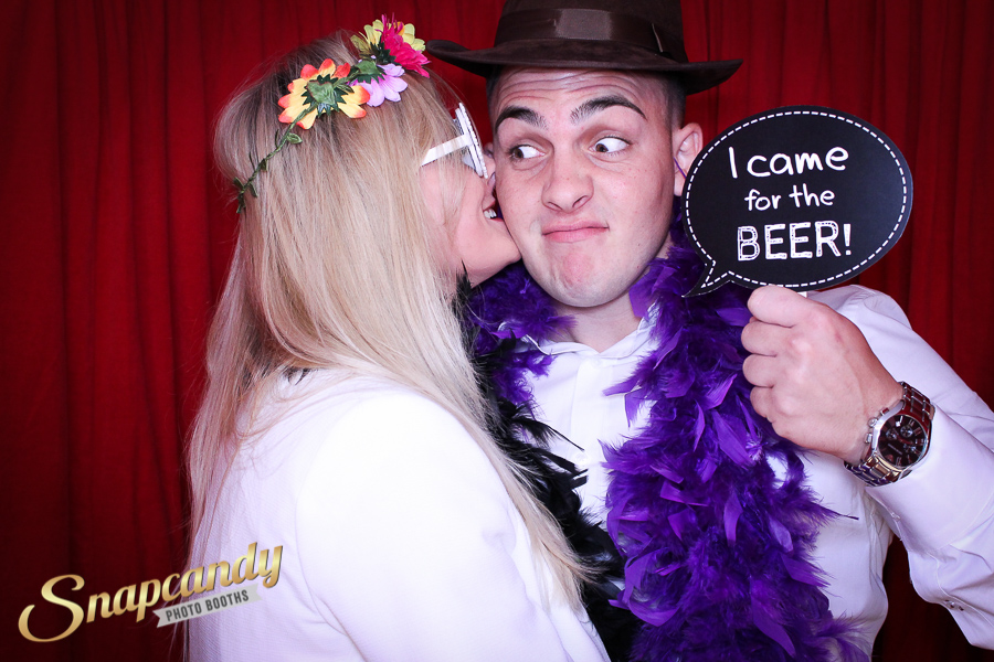i came for the beer photo booth prop