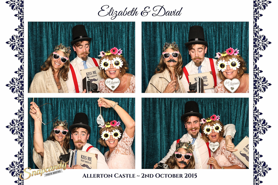 vintage style photo booth
