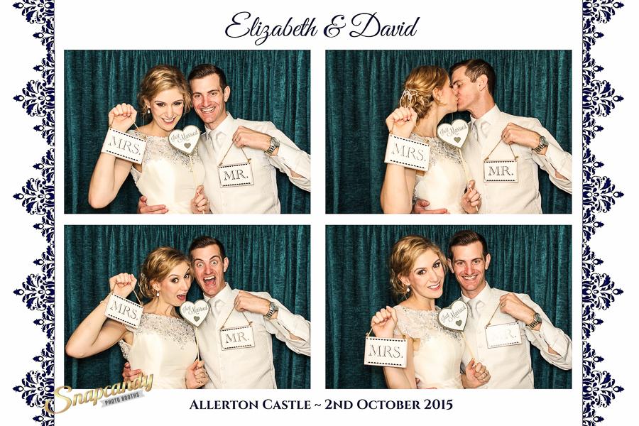 allergen castle wedding