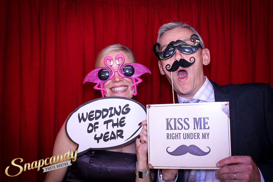 wedding of the year photo booth