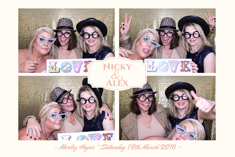 morley hayes wedding photo booth