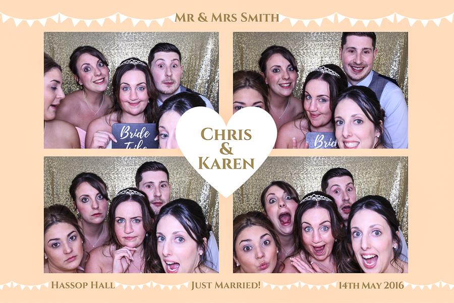 wedding photo booth bakewell