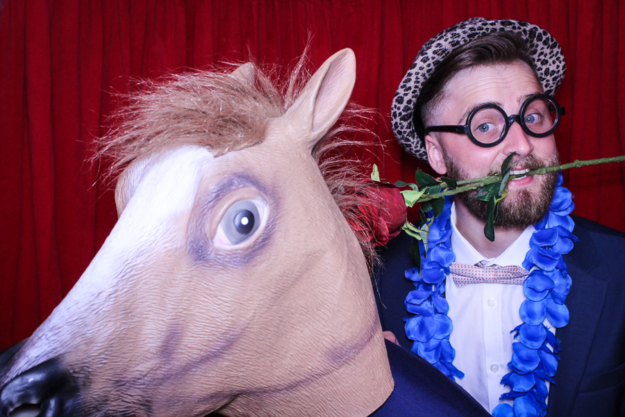 Swancar Farm Wedding Photo Booth