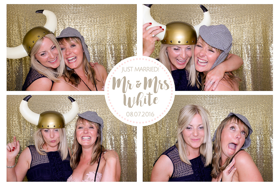 calke abbey wedding photo booth