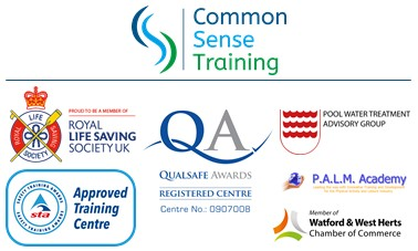 Company logo and those of awarding bodies