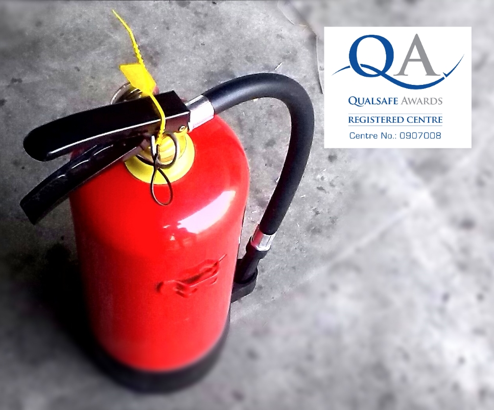 Water first extinguisher