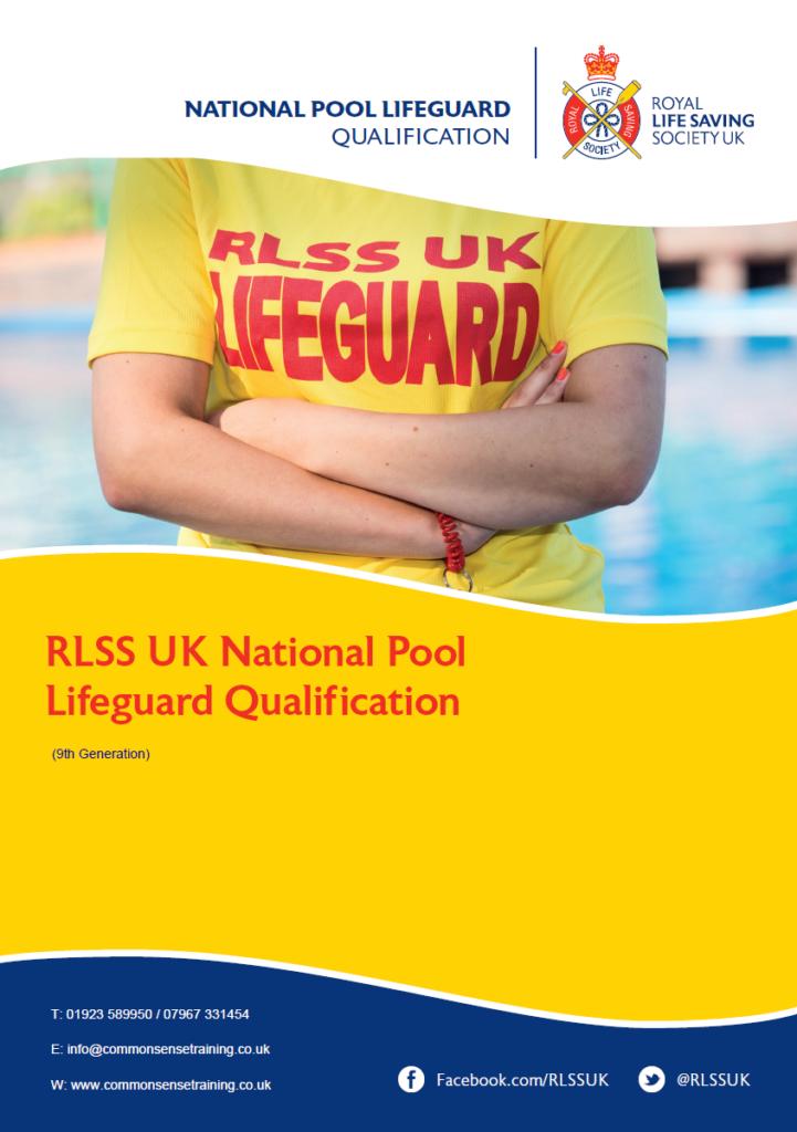 RLLS UK National Pool Lifeguard - Torso of lifeguard