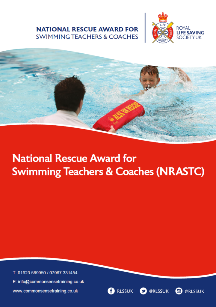 National rescue award for swimming teachers and coaches - Lifeguard assisting child in trouble