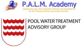 Physical Activity and Leisure Management Academy and Pool Water Treatment Advisory Group logos