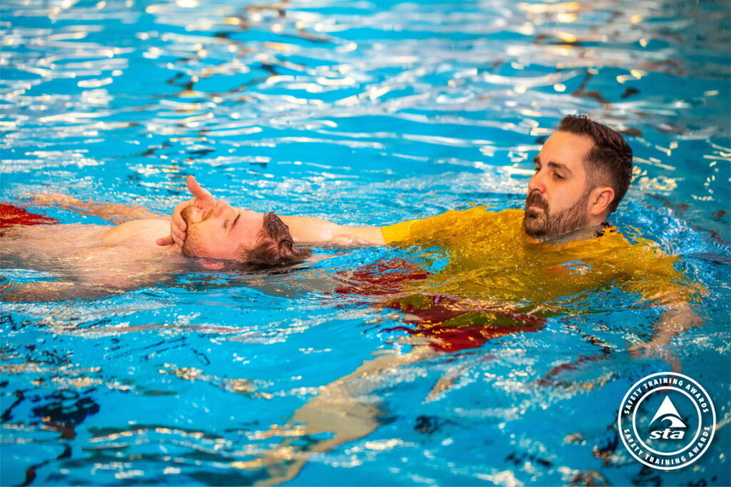 Safety Training Awards - Rescue of an unconscious casualty from a pool