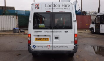 Ford Transit 125 T350 11 Seater Accessible Minibus full