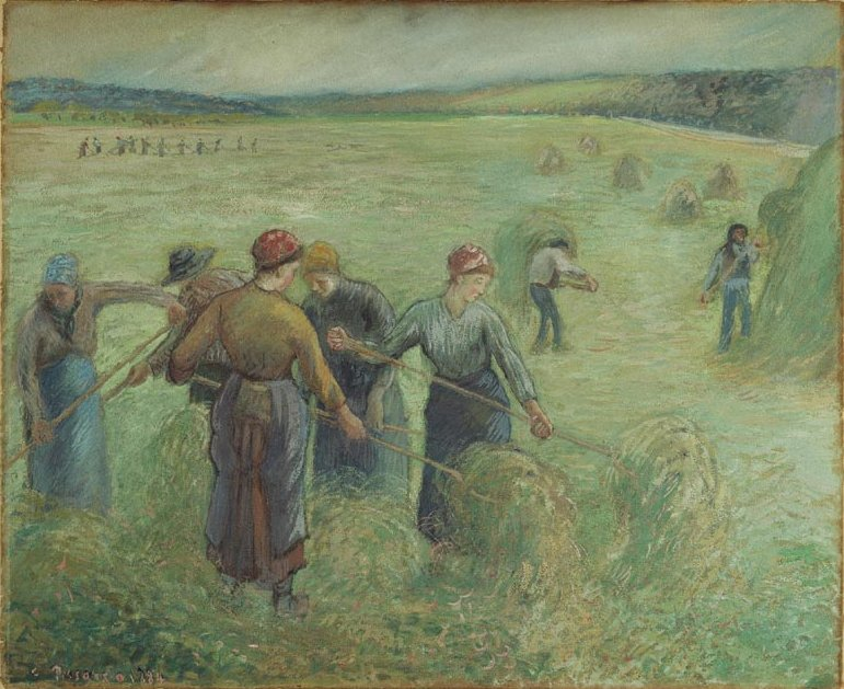 Camille Pissarro, The Hay Makers