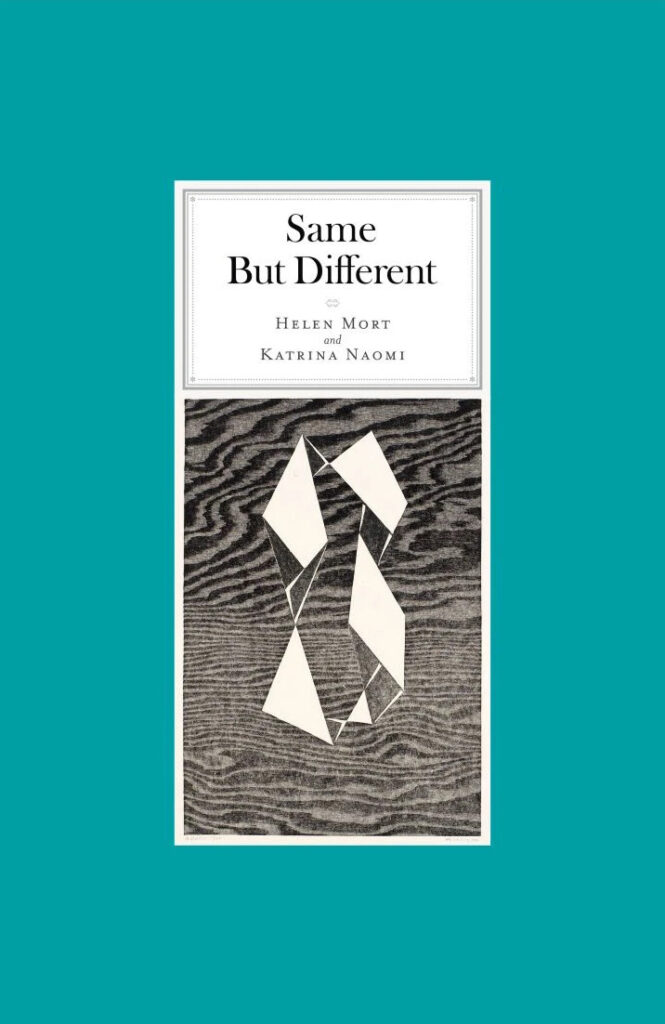 Same But Different book cover by Helen Mort and Katrina Naomi